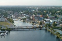 A Photo of Aerial View of Belleville, Ontario