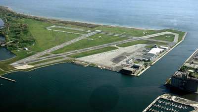 Location Map - Toronto Island Airport