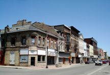 A Photo of a Street in Brantford, Ontario