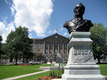 A photo of the Courthouse Building in Brockville, Ontario