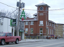 Photo of Canada Post Office in Burford's downtown