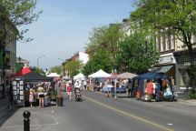 A Photo of a Street in Cobourg, Ontario