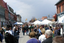 A Photo of a Festival in Bowmanville, Ontario