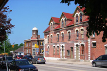 A Photo of the Downtown Gravenhurst, Ontario