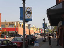 A Photo of the Downtown Simcoe, Ontario