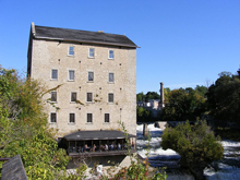 A phote of a mill in Elora, Ontario