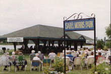 A Photo of an Outdoor Gathering in Ennismore, Ontario