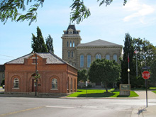 A Photo of the Square in Simcoe, Ontario