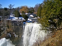 A photo of Waterfalls in Greensville, ON