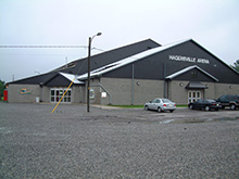 Photo of the Arena in Hagersville, Ontario