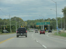 Photo of Highway 4 at St. Thomas, Ontario