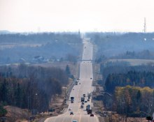 A Photo of a Road in Inglewood, Ontario