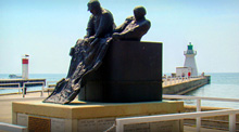 Photo of Memorial in Port Dover, Ontario