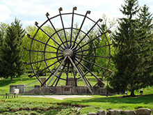 Giant Waterwheel at New Hamburg, Ontario