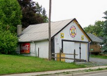 A Photo of an Old House in Newtonville, Ontario