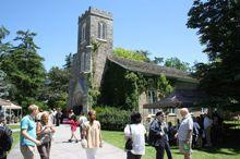 A photo of a church in Niagara-on-the-Lake, ON