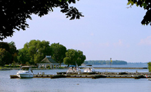 A photo of the Waterfront in Orillia, Ontario