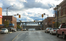 Downtown Parry Sound, Ontario