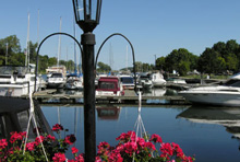 Photo of a Harbour in Picton, Ontario