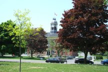 A Photo of a City Hall in Port Hope, Ontario