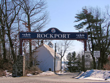 A Photo of the Rockport, Ontario City Sign