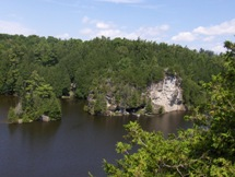 A photo of a Conservation Area in Rockwood, ON
