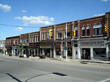 Photo of Main Street in Shelburne, Ontario