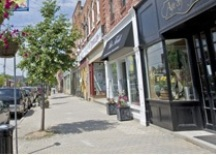 A Photo of a Street in Whitchurch-Stouffville, Ontario