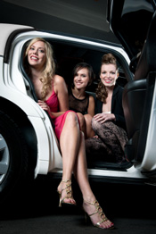 Girls in a Limousine photo